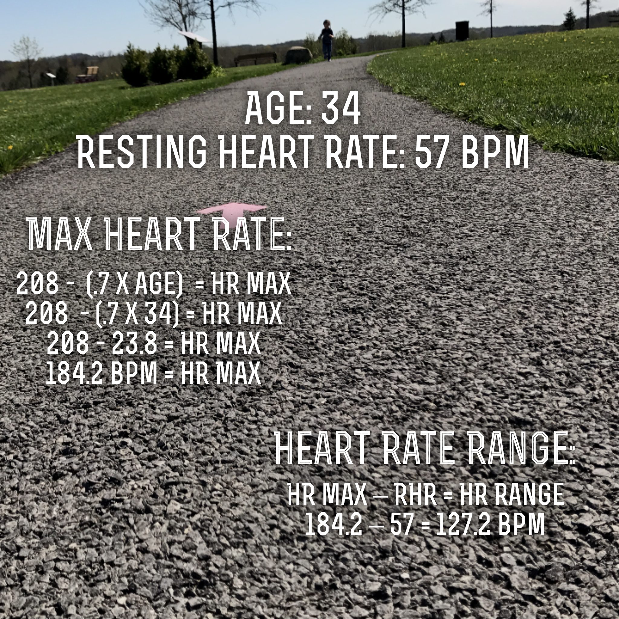 Heart rate 101 any day with a for the moment ill use my own rhr and age as an example heart rate zones nvjuhfo Image collections